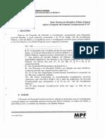 Nota Tecnica Do MPF Sobre a PRC 37
