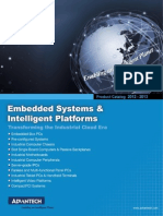 Advantech > 2012 Embedded System Intelligent Platforms Product Catalog
