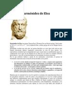 Parmenides de Elea