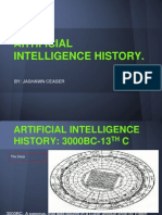 artificial intelligence history jashawn ceaser