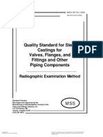 MSS SP 54 Radiographic Examination Method