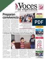 Voces de Esperanza 29 de Septiembre 2013