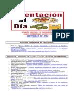Orientación al día - Septiembre 2013