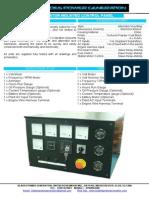 Blades Power Engine Control Panel