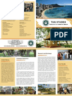 Thai Studies Brochure