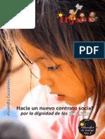 Hacia un nuevo contrato social por la dignidad de los Niños y niñas