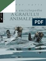 Opris Tudor - Mica Enciclopedie a Graiului Animalelor