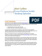 Hot Coffee Cross Platform Scribd Desktop Uploader