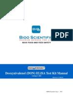 1064-01 MaxSignal® DON ELISA Test Kit Manual