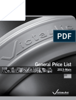 Victaulic Price List - General 2013