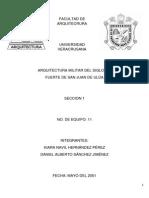 Trabajo de San Juan de Ulua Portada Final...