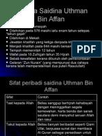Pel 20 Saidina Uthman Bin Affan