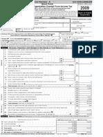 MGF 990 form 2009