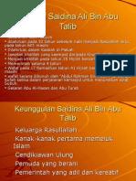 Pel 21 Saidina Ali Bin Abu Talib