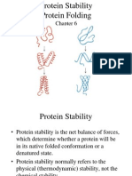 Folding Protein Stability