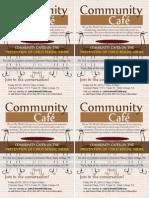 Cafe Brochure Oct 25 2013 Quarter Sheets