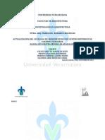 Actualizacion de catalogo de Inglesia de Nuestra Señora de Guadalupe, Coatepec, Veracruz, Mexico