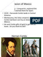 Chapter 2 Section 3 - Conquistadors - Cortes and Pizarro