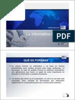 3 La Informática Forense