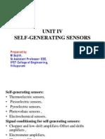 Unit-4-self generating sensors