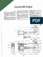43 Horizontal steam engine plan