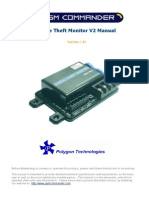 Cable Theft Commander Manual