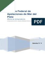 Camara Federal Mar Del Plata Boletin Jurisprudencia