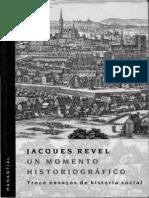 Jacques Revel. Un momento Historiográfico