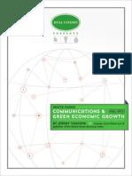 Communications & Green Economic Growth
