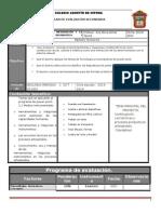 Plan y Prog de Evaluac 1o 2BLOQUE13 14