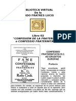 Libro Fratres Lucis 02 Confessio Fraternitatis