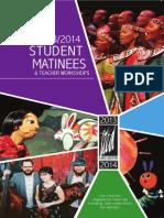 Student Matinee Brochure