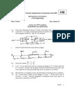 Mechanics of Solids i Jun2003 or 210151