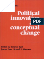 Terence Ball. Political Innovation and Conceptual Change