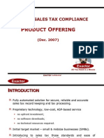 Exactor Sales Tax Product Offering