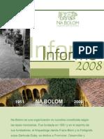 Informe 2008 Na Bolom Asoc. Cultural