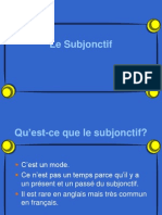 Subjonctif