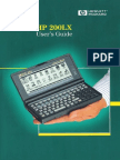 HP 200LX Users Guide