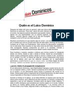 4to envio Quién es el Laico Dominico 2003