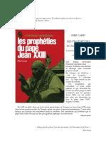 Carpi Pier - Les Prop He Ties Du Pape Jean XXIII