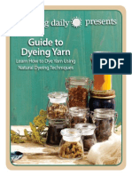Guide to Dyeing wool