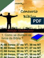 Concurso Biblico Antigo Testamento.ppt
