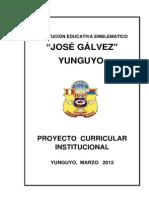 PCI - IES. JOSÉ GALVEZ - YUNGUYO 2011