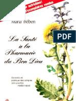Maria Treben - La Sante a La Pharmacie Du Bon Dieu