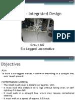 Six - Legged Walker Final Presentation