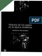5. RANKE Historia de Los Papas