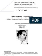 Cooper Willams - Armes Silencieuses - ToP SECRET