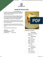Chefkoch.de Rezept_ Der Unglaublich Cremige NY Cheese Cake