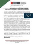 MINISTRO DEL INTERIOR DESTACA QUE FONIPREL PERMITIRÁ A GOBIERNOS LOCALES INVERTIR EN SEGURIDAD CIUDADANA