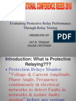 FINAL____Evaluation of Protective Relay Performance - REEES-2010 ITM